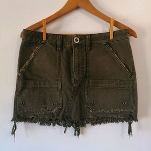 Free People canvas relaxed mini